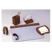 Set birou Murano lemn arin, 5 piese, Bestar