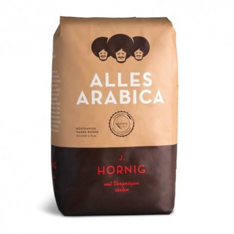 Cafea boabe J. Hornig Alles Arabica, 500 g