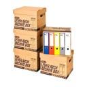 Container arhivare bibliorafturi, cu capac, MAS