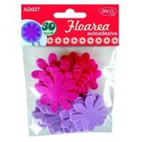 Accesorii decor Floarea, autoadezive, Daco