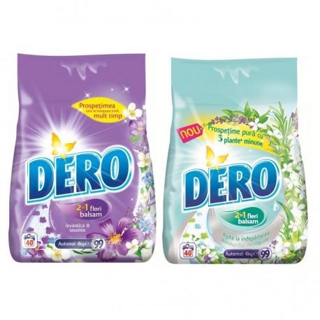 Detergent rufe Dero  2 in 1, 4 kg, diverse sortimente