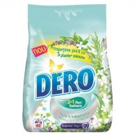 Detergent rufe Dero 2 in 1, 8 kg, diverse sortimente
