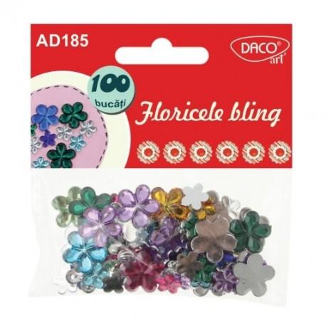 Accesorii decor Floricele bling, Daco