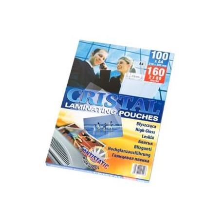 Folie laminare A7 (80 x 111 mm), 80 microni, 100 buc./top