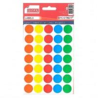 Abtibild buline colorate 19mm, Tanex