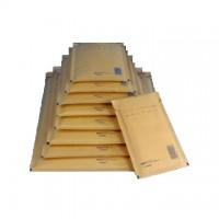 Plic cu protectie antisoc maro, siliconic, AB02, 17x22,5cm