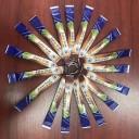 Zahar brun trestie de zahar baghete 4g x 125 bucati, Diamant