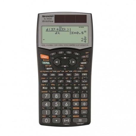 Calculator stiintific 556 functii SHARP EL-W506B