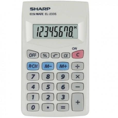 Calculator de buzunar 8 digits Sharp EL-233S