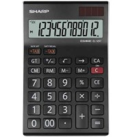 Calculator de birou 12 digits Sharp EL-125TWH
