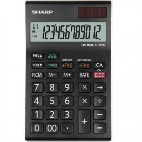 Calculator de birou 12 digits Sharp EL-128CWH