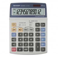 Calculator de birou 12 digits Sharp EL-2125C