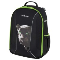 Rucsac Herlitz Be.Bag Airgo Black Panter + cadou caiet my.book flex A4