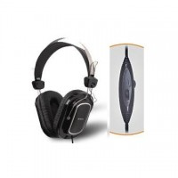 Casti cu microfon A4Tech HS-200, piele, control volum pe fir