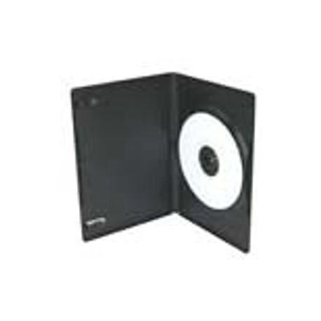 Carcasa DVD subtire (6 mm), neagra