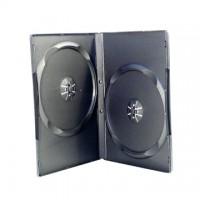 Carcasa DVD normala dubla, neagra