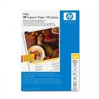 Hartie HP Superior Inkjet Paper Glossy dubla fata,  A4, 180g/mp