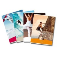 Caiet A5 48 file 80g/mp, coperta carton lucios, Aurora Splendid