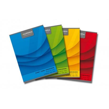 Caiet A5 60 file 70g/mp, coperta carton, Aurora Office