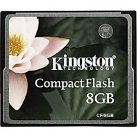 Card Compact Flash 8 GB, Kingston