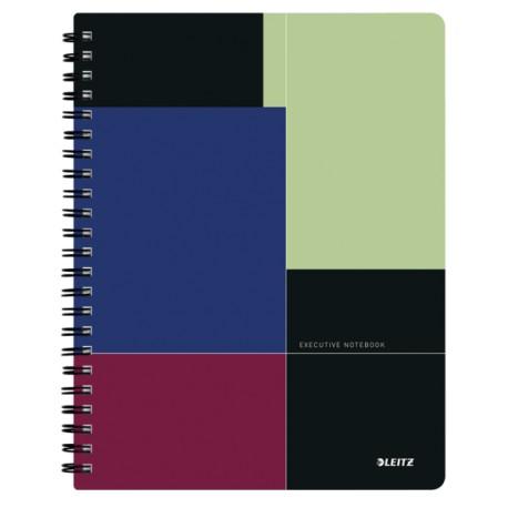Caiet de birou Leitz Executive Get Organized A4, coperta plastic