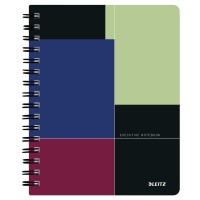 Caiet de birou Leitz Executive A5, coperta plastic