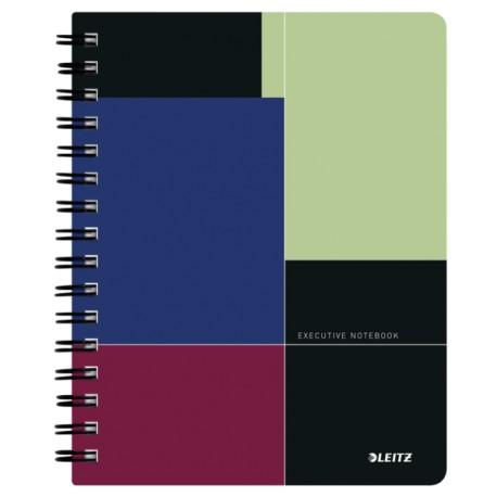 Caiet de birou Leitz Executive A4, coperta plastic Caiet de birou Leitz Executive A5, coperta plastic