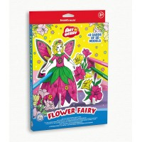 Puzzle 3D pentru coorat Art Berry Flower Fairy, ErichKrause