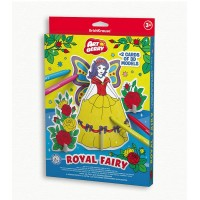 Puzzle 3D pentru coorat Art Berry Royal Fairy, ErichKrause