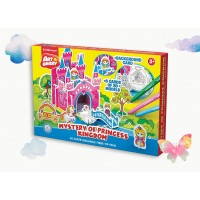 Puzzle 3D pentru colorat Art Berry Castelul Printesei, ErichKrause