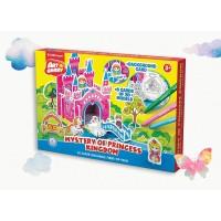 Puzzle 3D pentru coorat Art Berry Castelul Printesei, ErichKrause