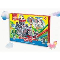 Puzzle 3D pentru coorat Art Berry Castelul Cavalerului, ErichKrause