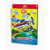 Puzzle 3D pentru coorat Art Berry My Airplane, ErichKrause