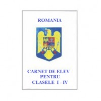 Carnet elev pentru clasele I-IV