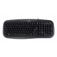 Tastatura USB multimedia Genius KB-M200, neagra