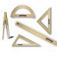 Set de instrumente geometrie pentru tabla, Fara Design