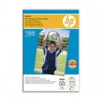Hartie HP Advanced Glossy Photo Paper, 10x15cm borderless, 250g/mp, 25 coli