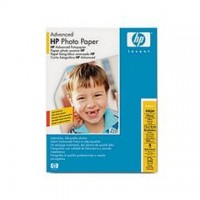 Hartie HP Advanced Glossy Photo Paper , 13x18cm borderless, 25 coli/top