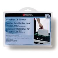 Coli impregnate cu ulei pentru distrugator documente, 12 buc./set, Rexel