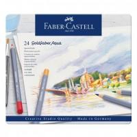 Creioane colorate acuarela Goldfaber 242 culori,  Faber-Castell