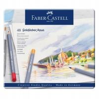 Creioane colorate acuarela Goldfaber 36 culori,  Faber-Castell
