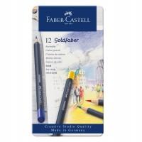 Creioane colorate Goldfaber 12 culori Faber-Castell