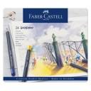 Creioane colorate Goldfaber 24 culori Faber-Castell