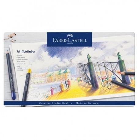 Creioane colorate Goldfaber 36 culori Faber-Castell