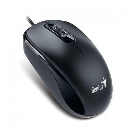 Mouse USB 3 butoane, Genius DX-110 negru