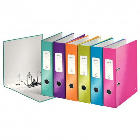 Biblioraft plastifiat 8cm Leitz WOW 180°