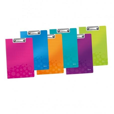 Clipboard simplu din plastic rigid Leitz WOW