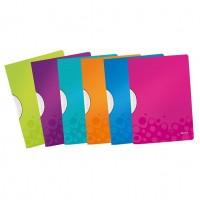 Dosar plastic cu clip Leitz WOW ColorClip