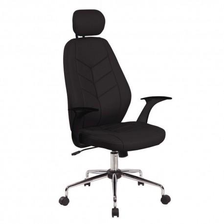 Scaun ergonomic Office Products Tenerife, piele cologica