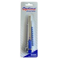 Cutter mic Optima Basic Metalic cu grip